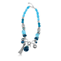 Into The Blue Necklace (N1820)