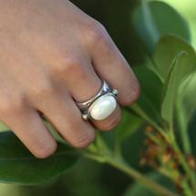 Pretty In Pearl Ring (RR259)