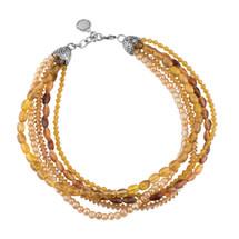 Safari Cognac Necklace (N1875)