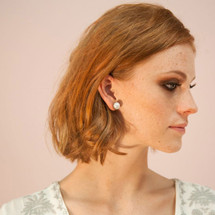 Pretty In Pearl Stud Earring (E2519)