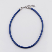 Blue Sky Leather Necklace (N1567)