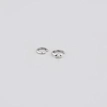Set of two ear cuffs in Sterling Silver