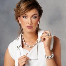 Rocker Pearl Necklace (N1595)