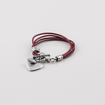 Lovestruck Leather Bracelet
