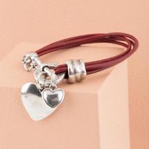 Lovestruck Leather Bracelet