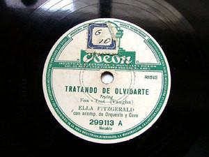 ELLA FITZGERALD & THE INK SPOTS Odeon 299113 78 EL BOOGIE DEL VAQUERO