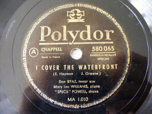 BYAZ, WILLIAMS, POWELL Polydor 580055 JAZZ 78 MY BABY