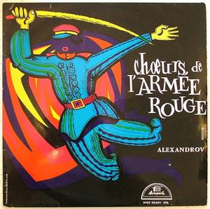BORIS ALEXANDROV Choeurs De L'Armee Rouge ACROPOLE French LP