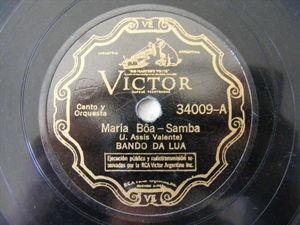 BANDO DA LUA Victor 34009 BRAZIL 78 MARIA BOA / MENINA QUE PINTA O SETE