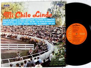 MI CHILE LINDO Parra, Faro, Loyola, RCA Victor 2763 CHILE MONO LP 1969
