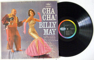 BILLY MAY Cha Cha CAPITOL 1329 Mexico LP