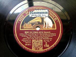 "12"" JACK HYLTON hmv 1783 JAZZ 78 MORE OLD SONGS"