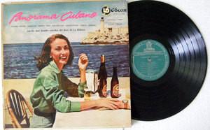 VARIOUS Panorama Cubano ODEON 7850 ARGENTINA LP