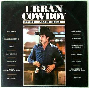URBAN COWBOY Ost ASYLUM 208875 ARGENTINE PROMO 2xLP