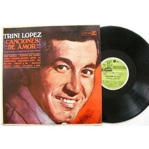 TRINI LOPEZ Canciones DE Amor REPRISE 12447 ARGENTINA LP EX