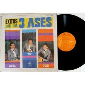 LOS TRES ASES Exitos VICTOR MKL-1250 MEXICO Bolero MONO LP NM