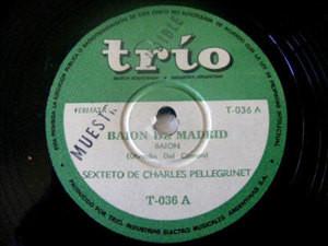 CHARLES PELLEGRINET SEXTET Trio 36 FOX 78 COPACABANA
