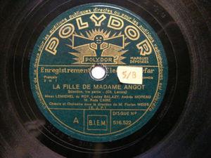 DU ROY, BALAZY, GAUDIN, WEISS Polydor 516522 OPERA 78rp