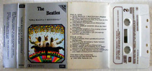 THE BEATLES Gira Magica y Misteriosa ARGENTINA Cassette