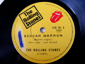 "7"" ROLLING STONES Ramera/Azucar Marron ARGENTINA EP"