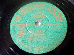 BEN LIGHT, HERB KERN, LLOYD SLOOP Chant Du Monde 78rpm