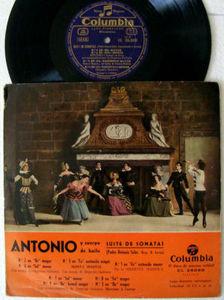 """10"""" ANTONIO Y CUERPO DE BAILE Columbia CL2600 LP SUITE"""