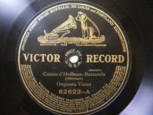 CARLOS D'ALMAINE Victor 62622 VIOLIN 78rpm FAUST NM