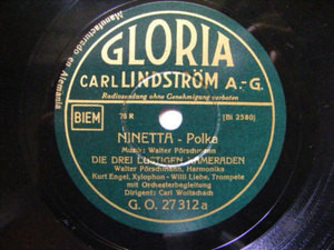 WOITSCHACH, ENGEL Gloria 27312 GERMANY 78 MINETTA WWII