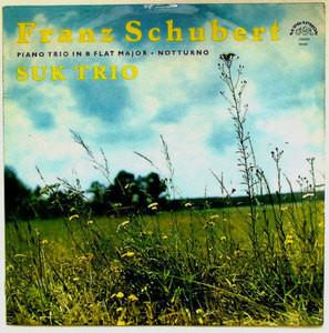 SUK TRIO Supraphon SUA ST 50 624 SCHUBERT LP NM