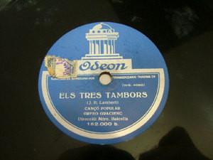 ORFEO GRACIENC Dir BALCELLS Odeon 182000 78 ELS TRES TA