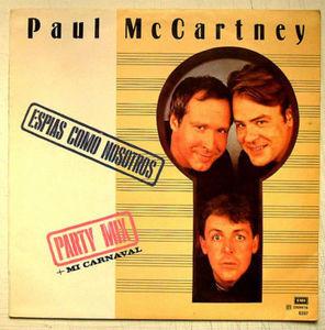 PAUL McCARTNEY Espias como nosotros PARLOPHON ARGENT LP