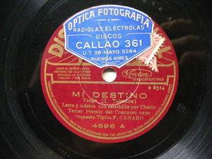 FRANCISCO CANARO Nacional 4696 TANGO 78 MI DESTINO / ARRIENDAN LOS PEDIGUEÑOS EX