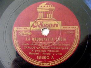 CARLOS GARDEL Odeon 18890 TANGO 78rpm LA CRIOLLA