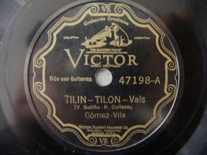 GOMEZ - VILA Scr VICTOR 47198 TANGO 78rpm ATENTI PEBETA