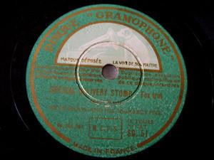 ARTIE SHAW Gramophone 51 JAZZ 78rpm SUMMIT RIDGE DRIVE