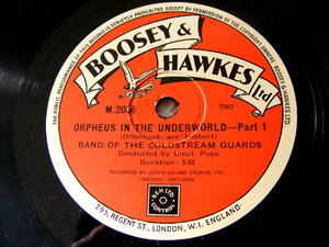 BAND COLDSTREAM GUARDS Boosey & Hawkes 2036 78 ORPHEUS