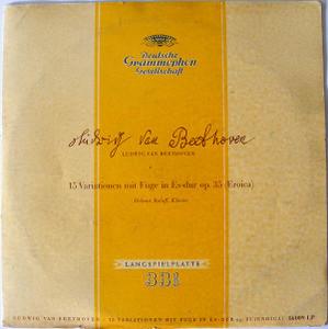 "HELMUT ROLOFF dgg 16009 LP BEETHOVEN 10"" LP"