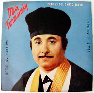 MAX FURMANSKY Grafdisc 12453  PERLAS DEL CANTO JUDIO LP