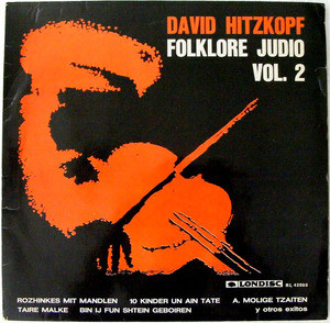 DAVID HITZKOPF Londisc RL 42000 FOLKLORE JUDIO Vol 2 LP