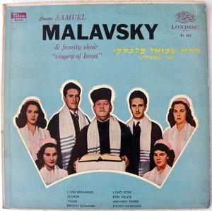 SAMUEL MALAVSKY & CORO Londisc RL-105 ARGENTINE LP