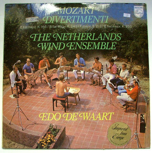 DE WAART & NETHERLANDS WIND E. Philips 6500 002  LP NM