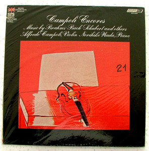 CAMPOLI & WADA London STS 15239 BRAHMS LP