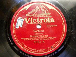 FLONZALEY QTET Victrola 6361 STRINGS 78rpm HAYDN