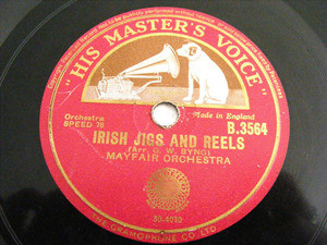 MAYFAIR ORCHESTRA Hmv 3564 ARABIC 78rpm HORNPIPE