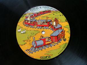 RUBEN CARAMBULA Rare SONDOR 11002 CHILDREN SONGS 78rpm