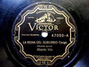 A. VILA Scr VICTOR 47050 TANGO 78rpm CUENTO CRIOLLO