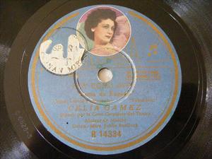 GAMEZ/CASARVILLA Columbia 14334 SPANISH 78rpm HOY COMO