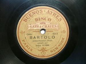 SR.GOBBI Rare GATH & CHAVES 4511 78rpm CARRETERO