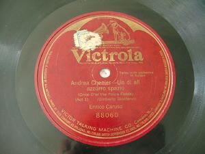 ENRICO CARUSO Victrola 88060 OPERA 78rpm ANDREA CHENIER