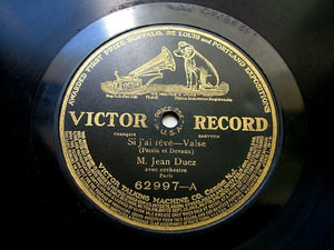 DUEZ JEAN Bk VICTOR 62997 78rpm PERRIN